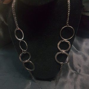 Statement Ring Necklace